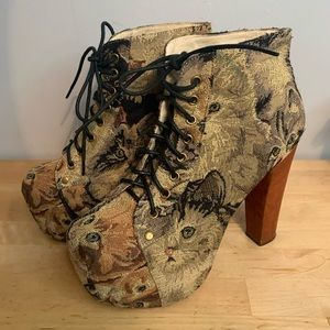 Women's Jeffrey Campbell Boots Size 7
